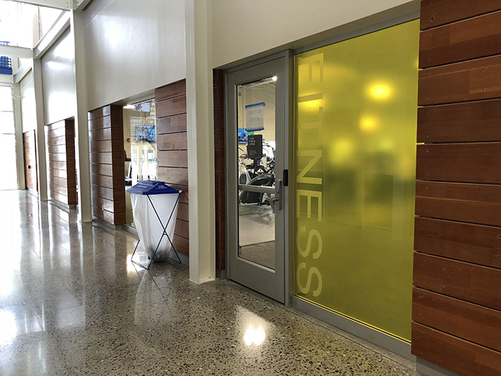 SFCC Fitness Center Entrance