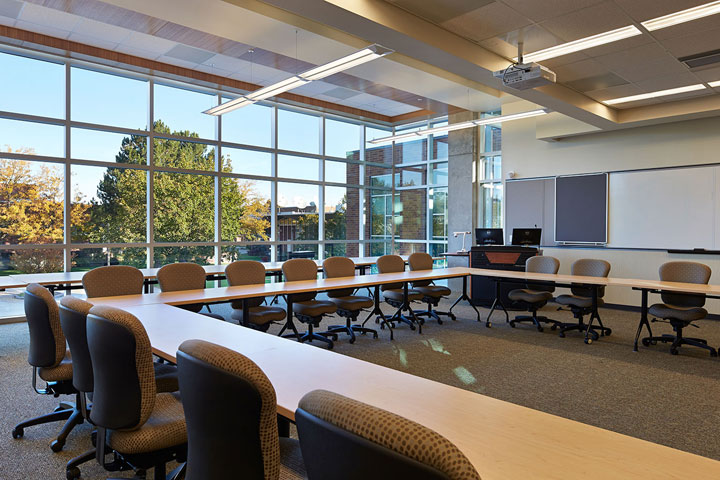 Upper level conference room in Building 30