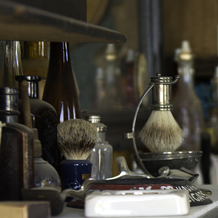 Barbershop Shelve