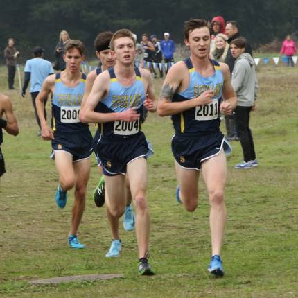 CCS men running cross country