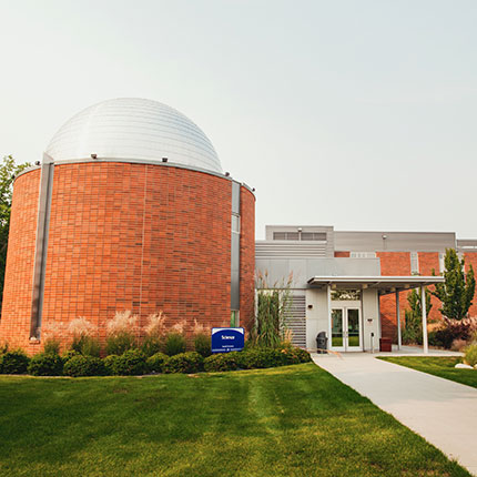 SFCC Planetarium and Science building.