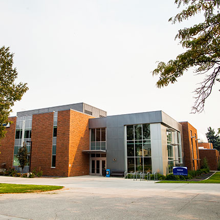 Science building on the SFCC campus.