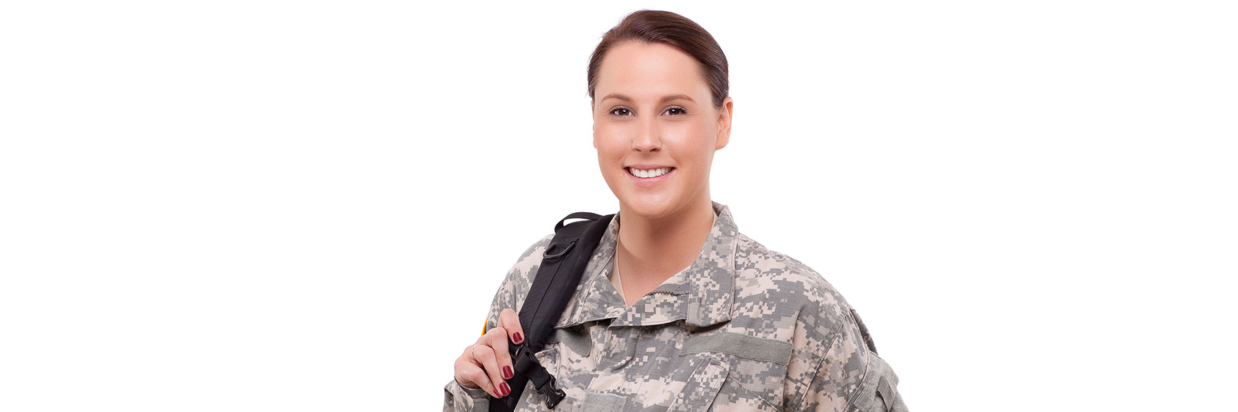 Woman Air Force member