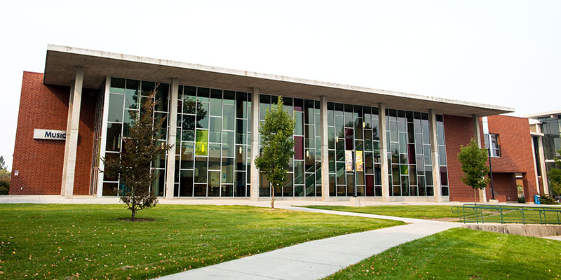 The music building on the SFCC campus.