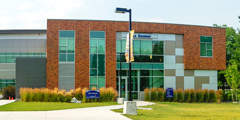 spokane falls community college campus map Campus Safety And Parking