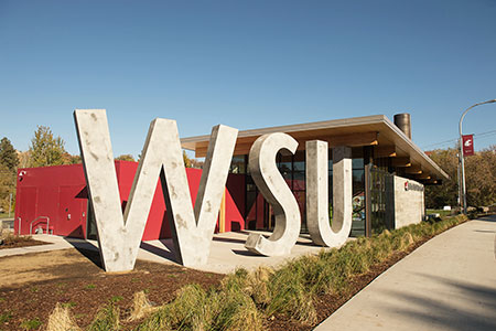 Photo of WSU Visitor
