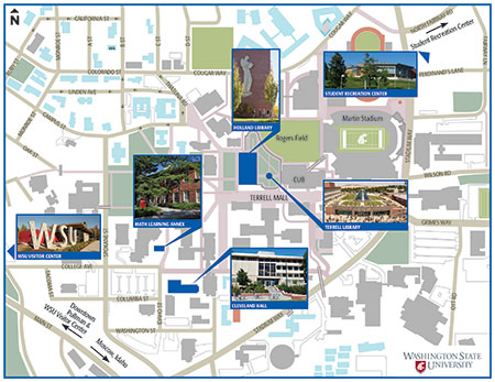 spokane falls community college campus map About Our Pullman Campus