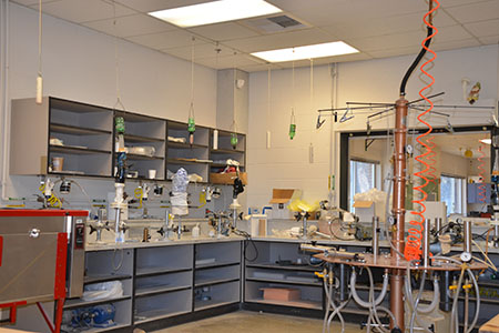 Lab full of equipment